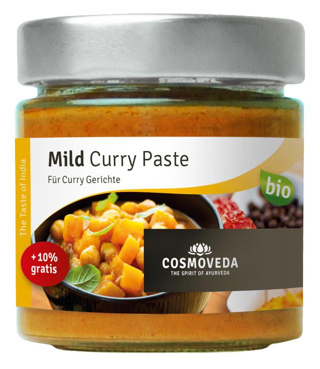 Bio Mild Curry Paste, 175 g