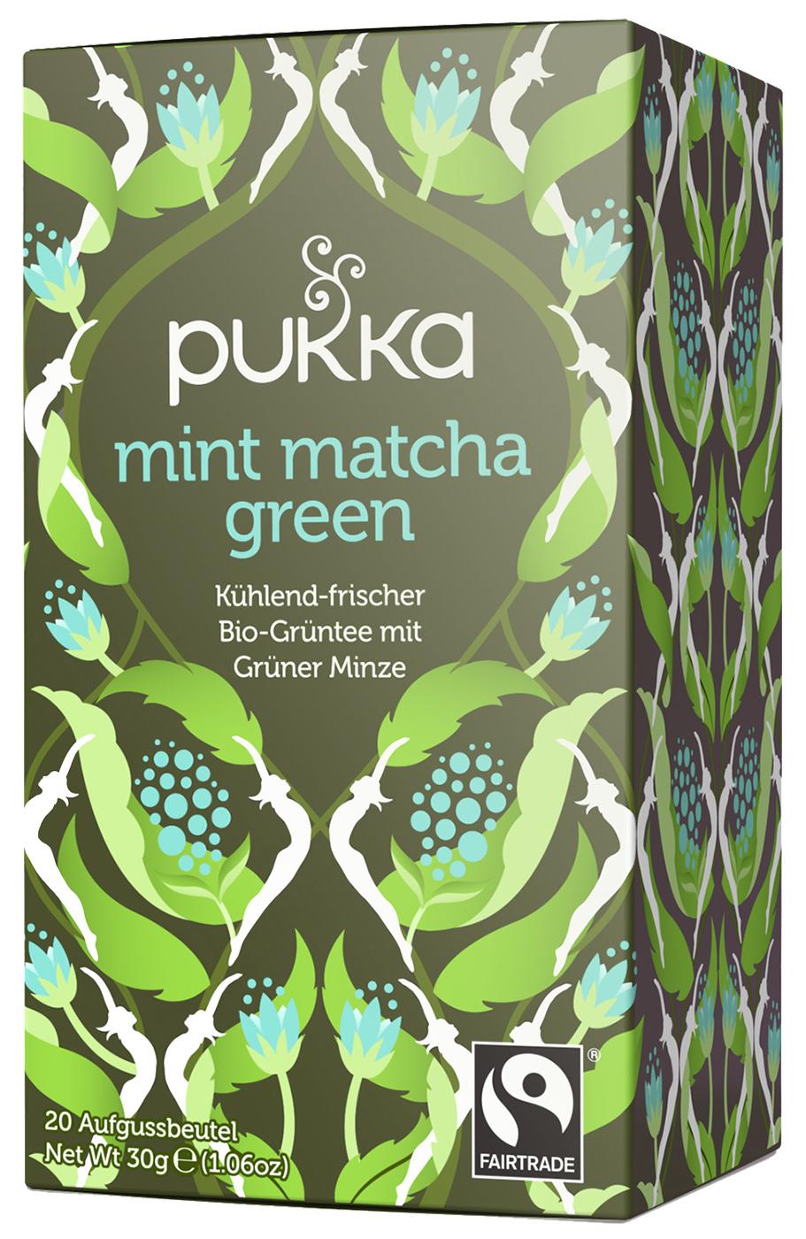 Bio Mint Matcha Green, 30 g