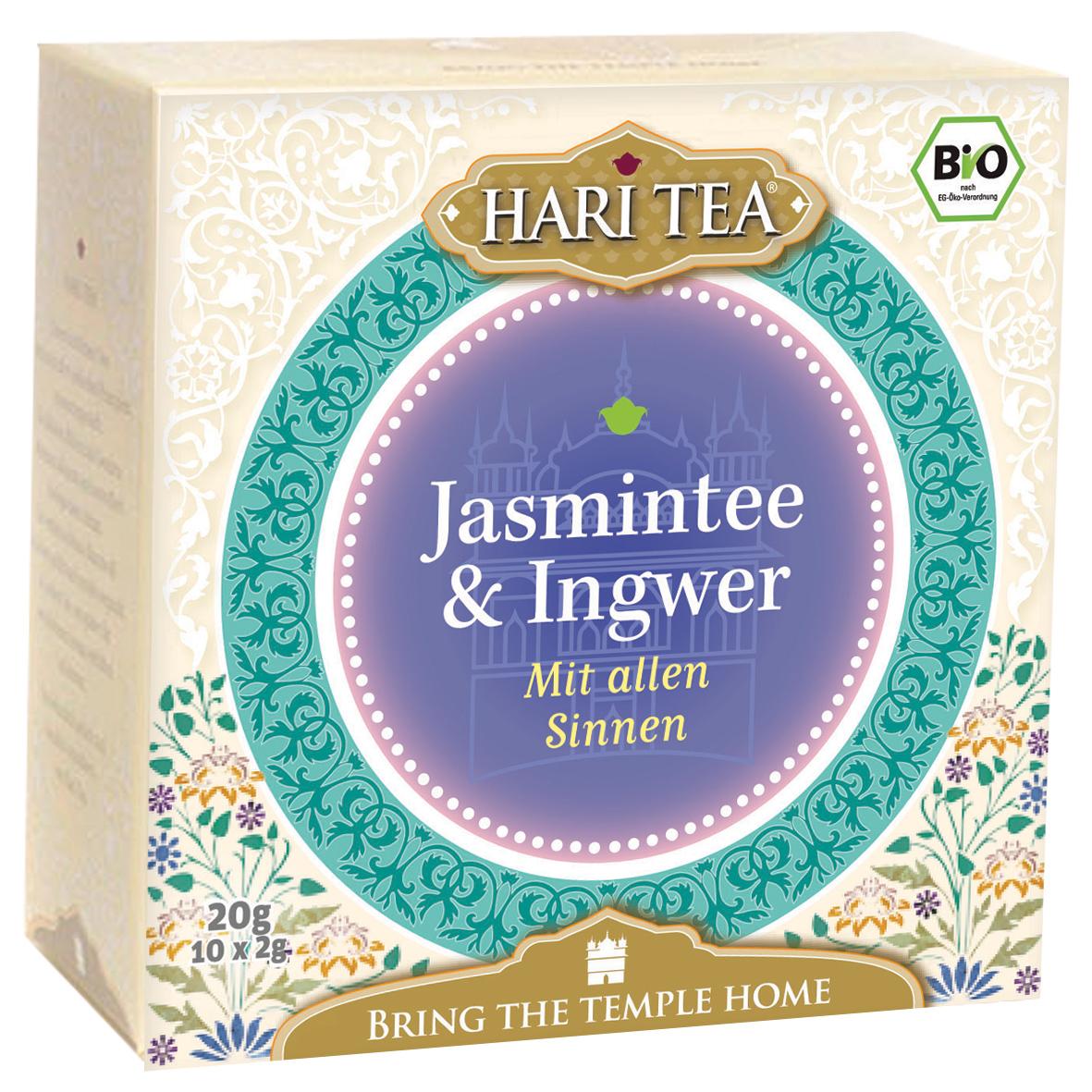 Bio Jasmintee & Ingwer Teemischung, 20 g
