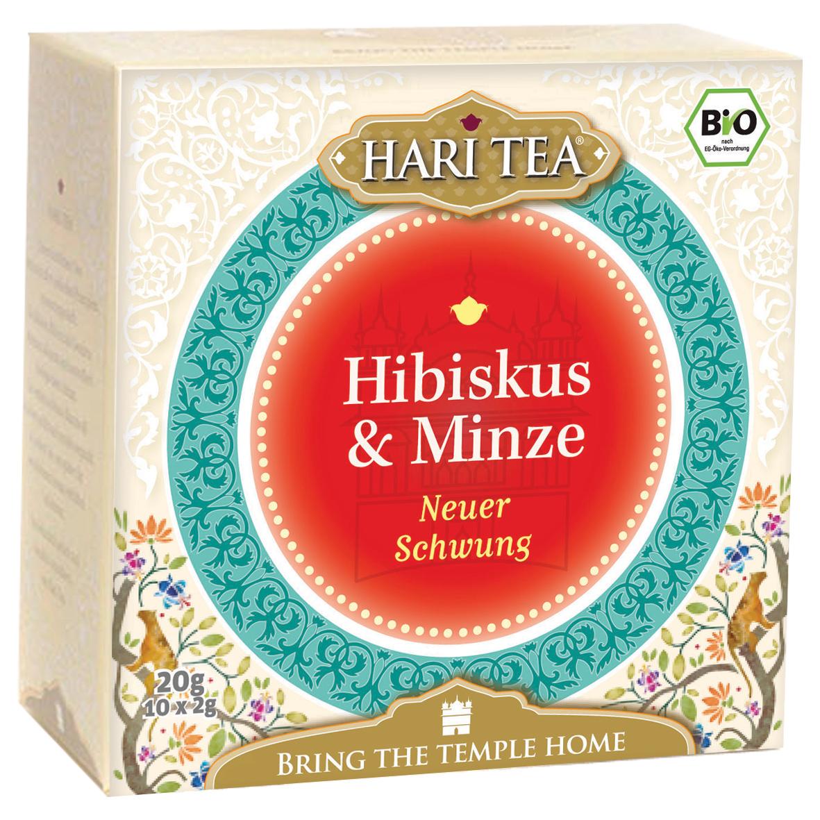 Bio Hibiskus & Minze Teemischung, 20 g