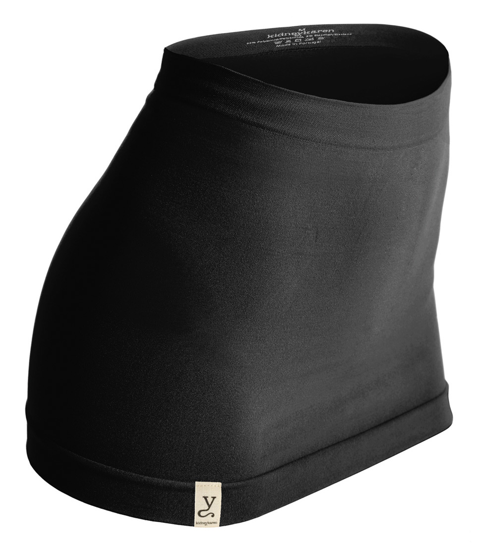 Nierenwärmer organic-tube - black