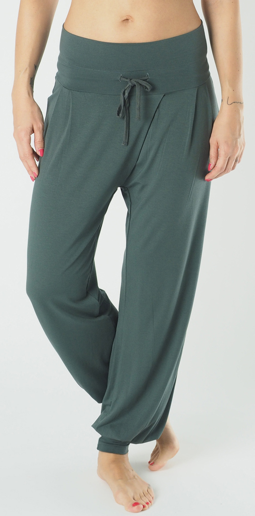 "Yoga-Pant long ""Padmini"", olive"
