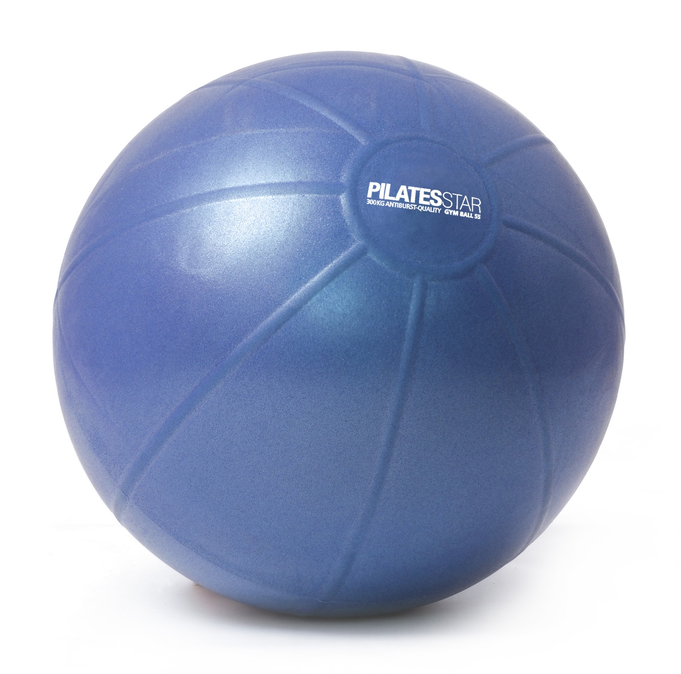 Pelota de gimnasia para pilates - azul