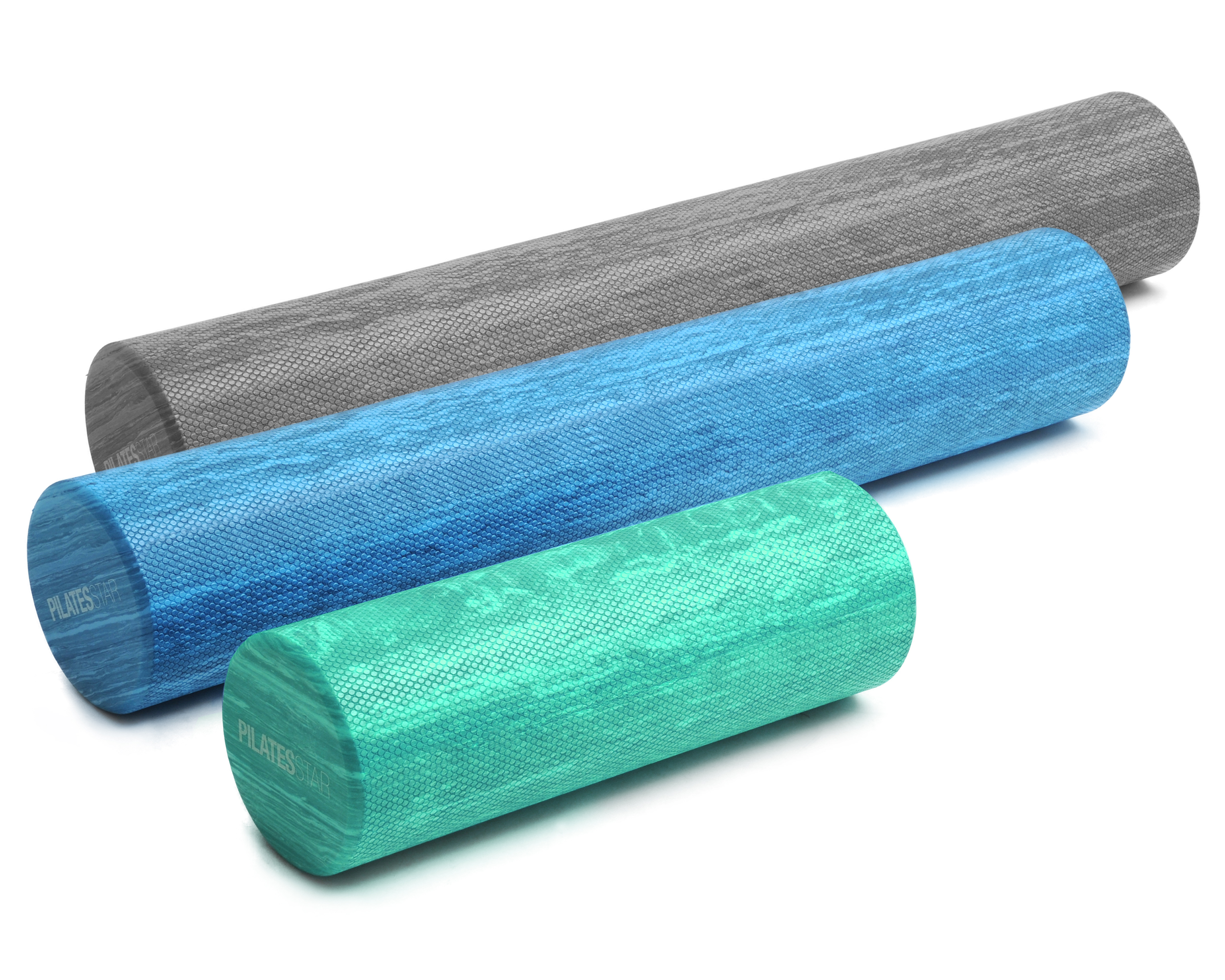 Pilates roll, blue (two colors)