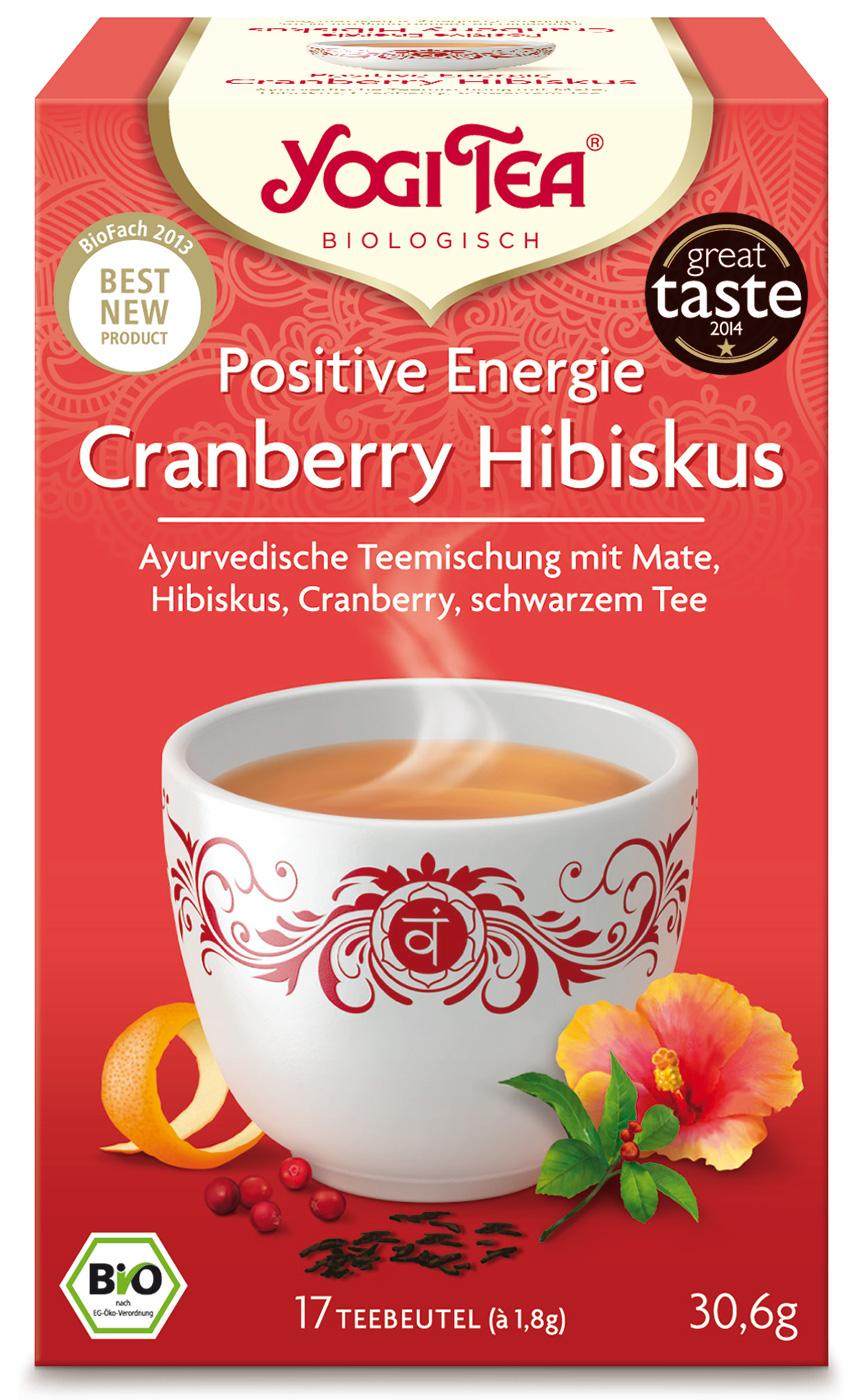 Bio Cranberry Hibiskus Teemischung, 30,6 g