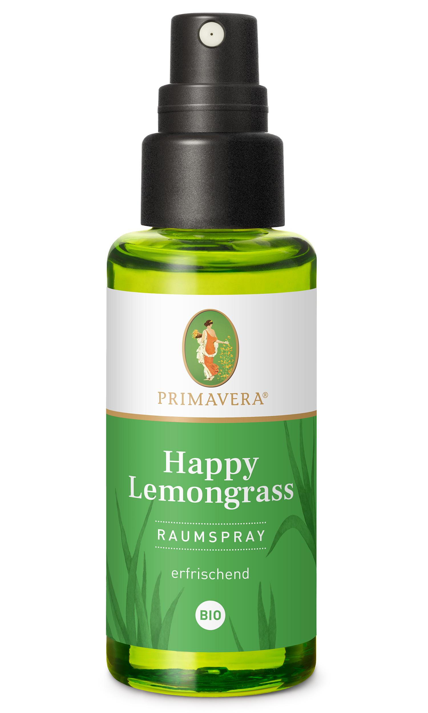 Bio Happy Lemongrass Raumspray, 50 ml