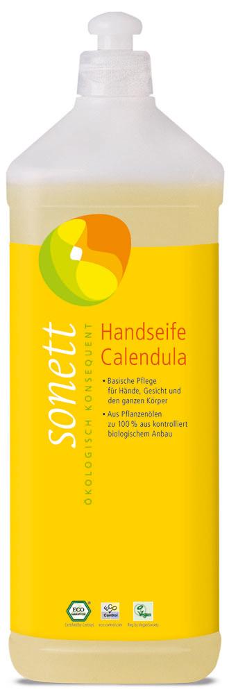 Handseife Calendula, Nachfüllflasche