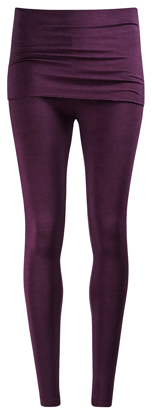 "Yoga-Leggings ""Smooth You"" - aubergine"