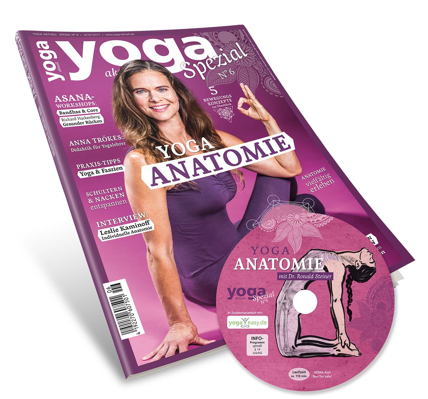 Yoga Aktuell Spezial Nr. 6 - Yoga & Anatomie