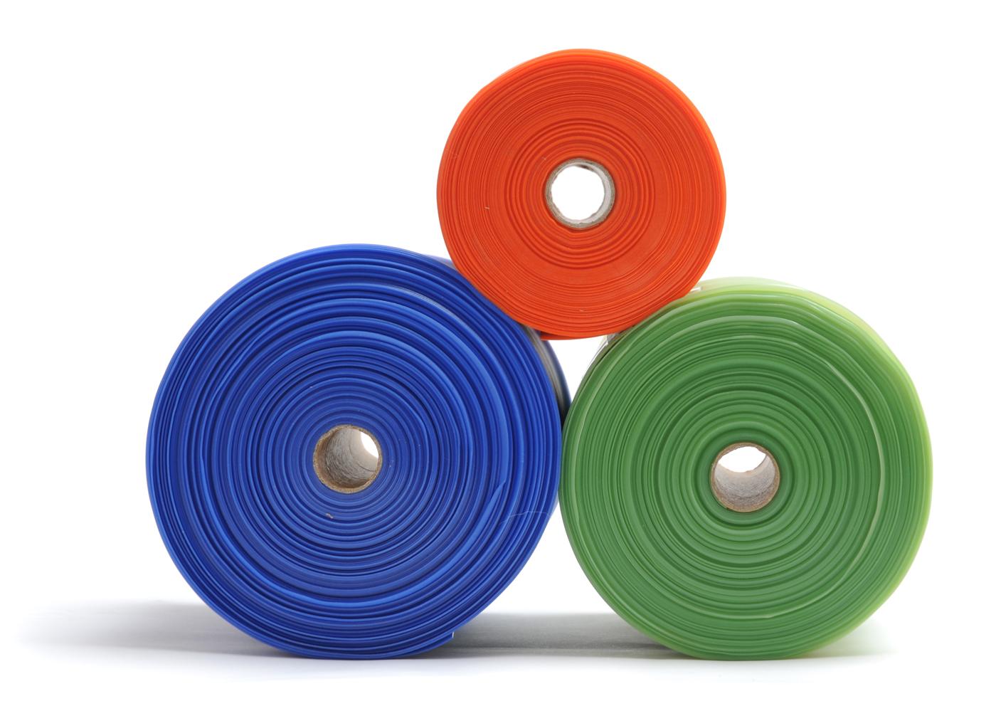 Banda elástica para pilates, sin látex, rollo de 25 m