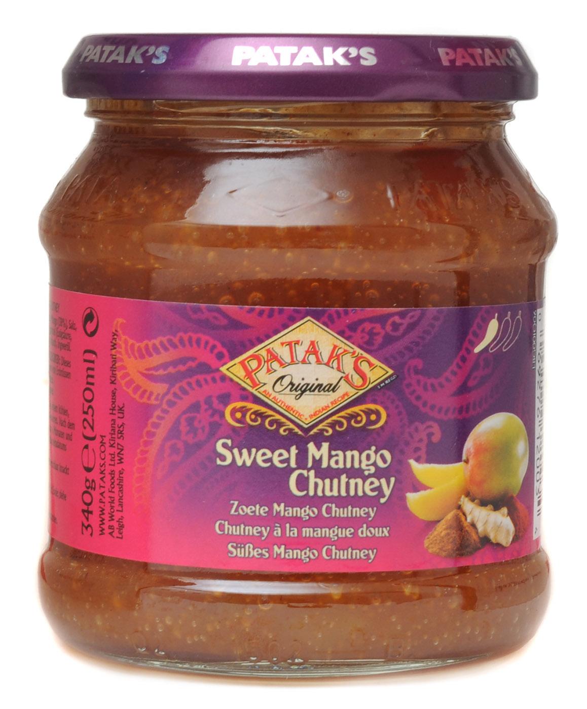 Süsses Mango Chutney (mild), 340 g