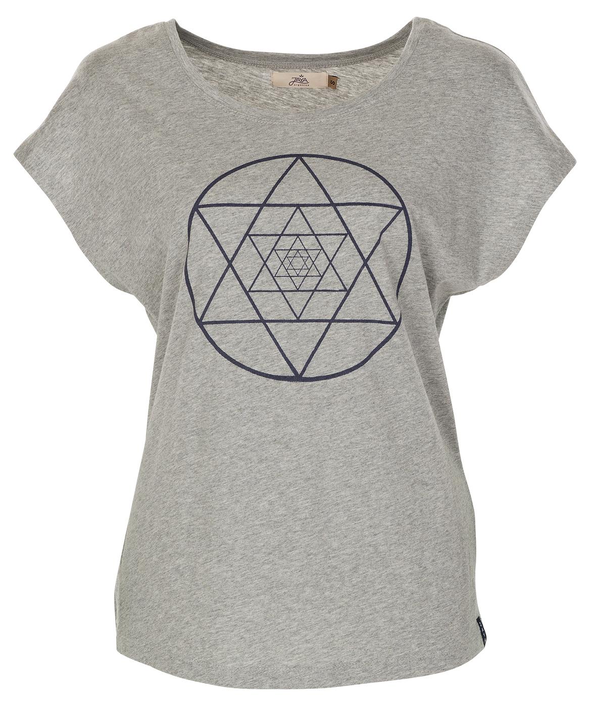 """T-Shirt """"Isis"""" - grey melange"""