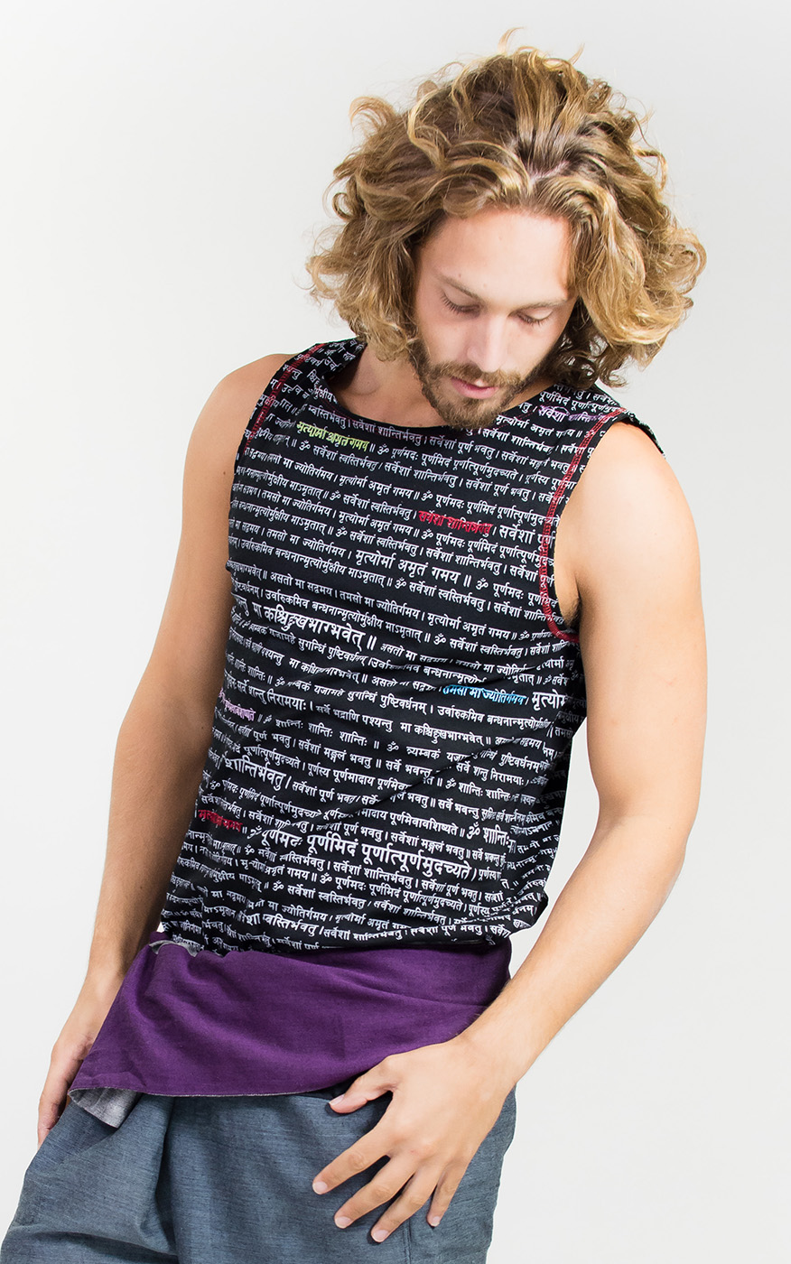 "Men's Tank-Top ""Mantra"""