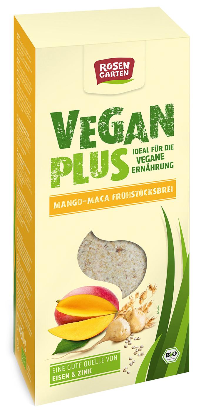 Bio Vegan Plus - Mango-Maca-Frühstücksbrei, 450 g