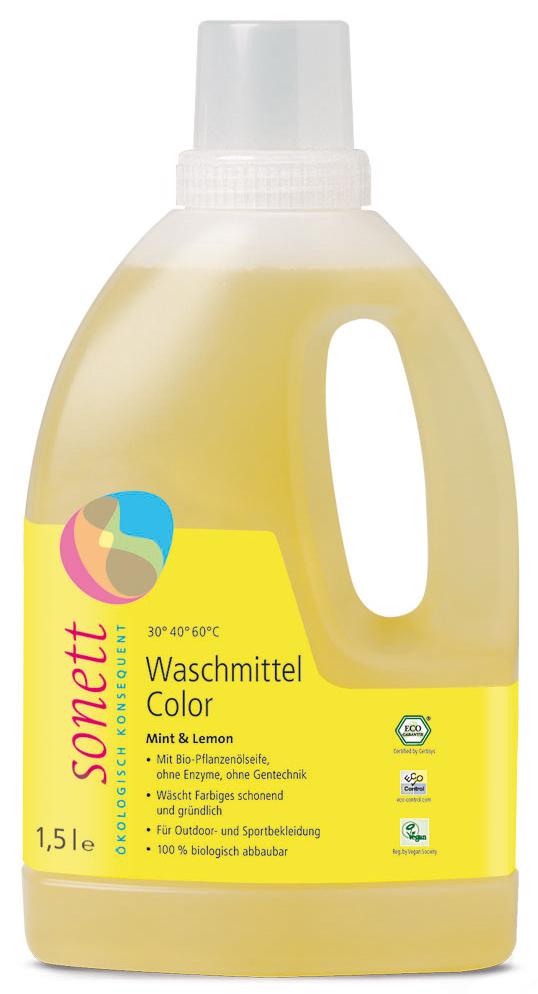 Waschmittel Color, Mint & Lemon