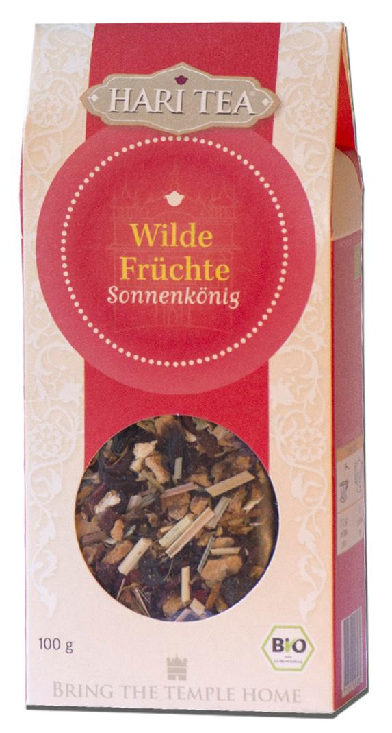 Bio Wilde Früchte lose Teemischung, 100 g
