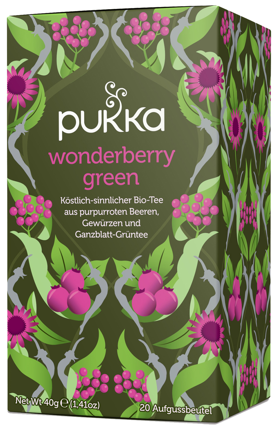 Bio Wonderberry Green Teemischung, 40 g