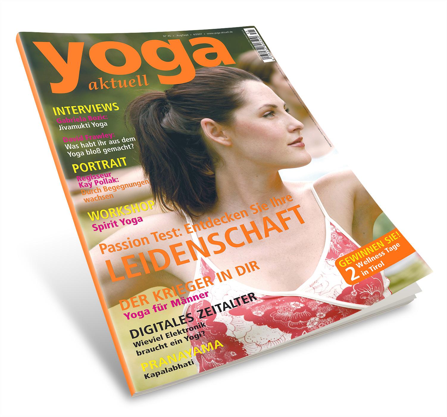 Yoga Aktuell 45 - 04/2007
