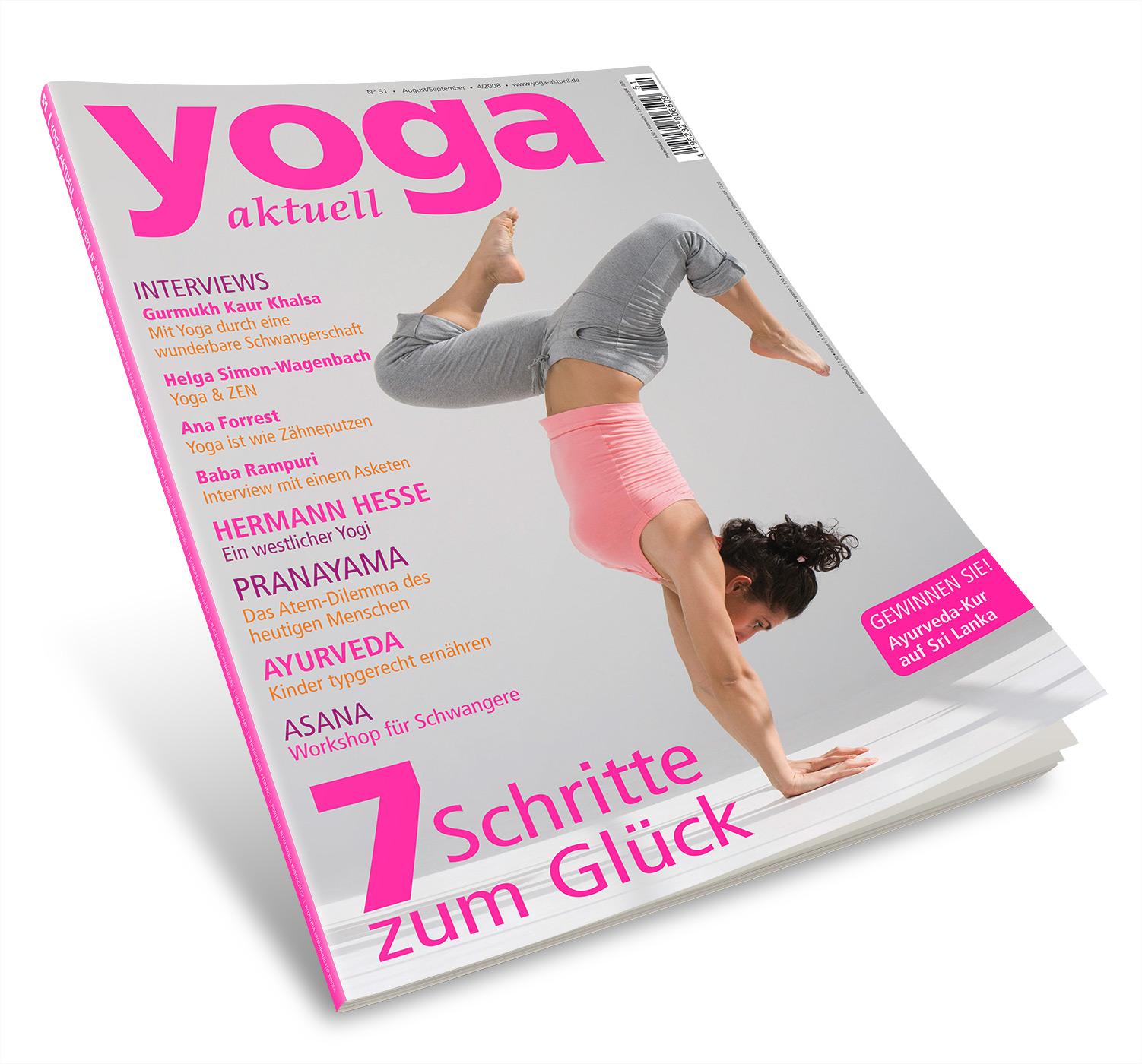 Yoga Aktuell 51 - 04/2008