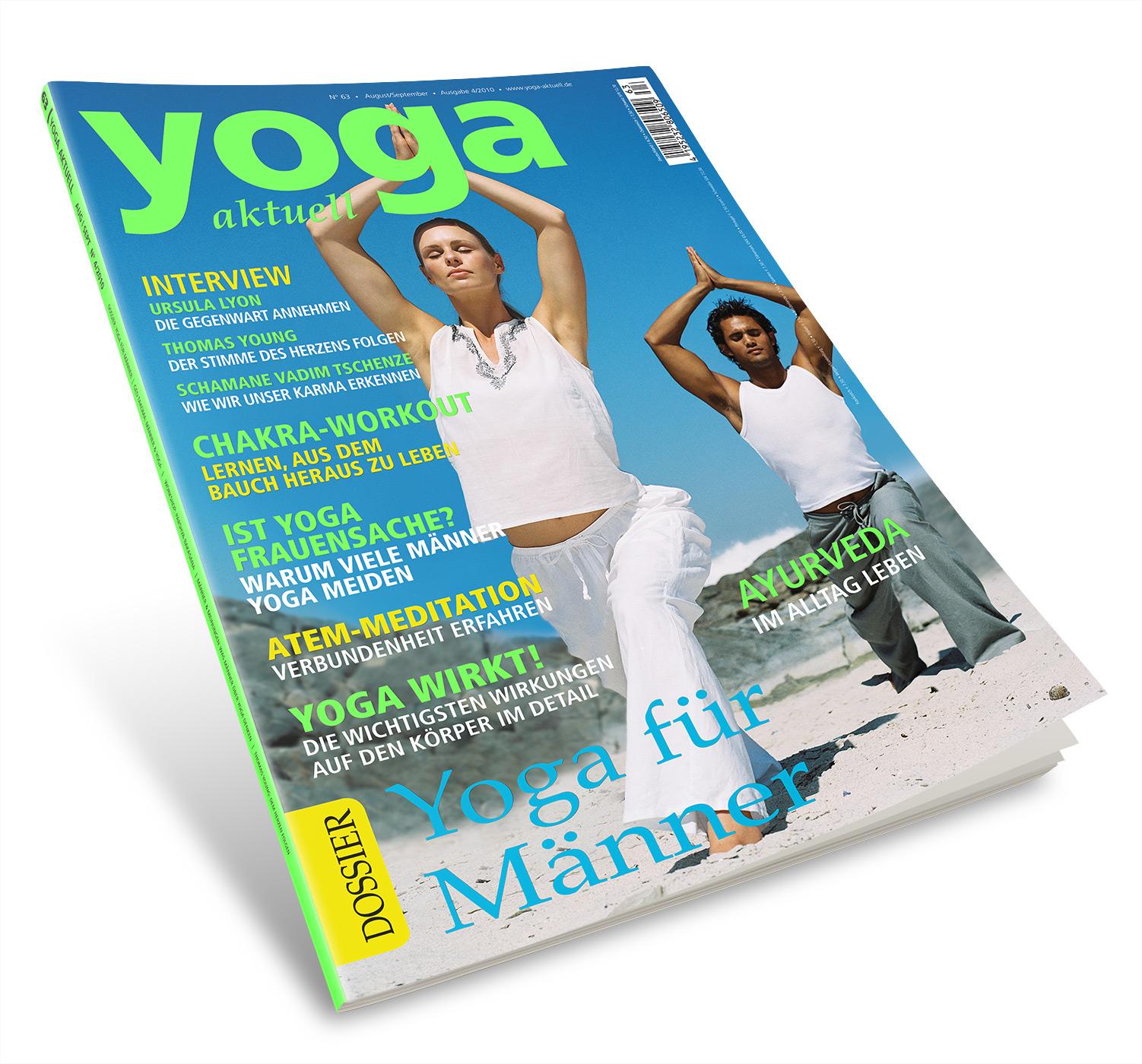 Yoga Aktuell 63 - 04/2010