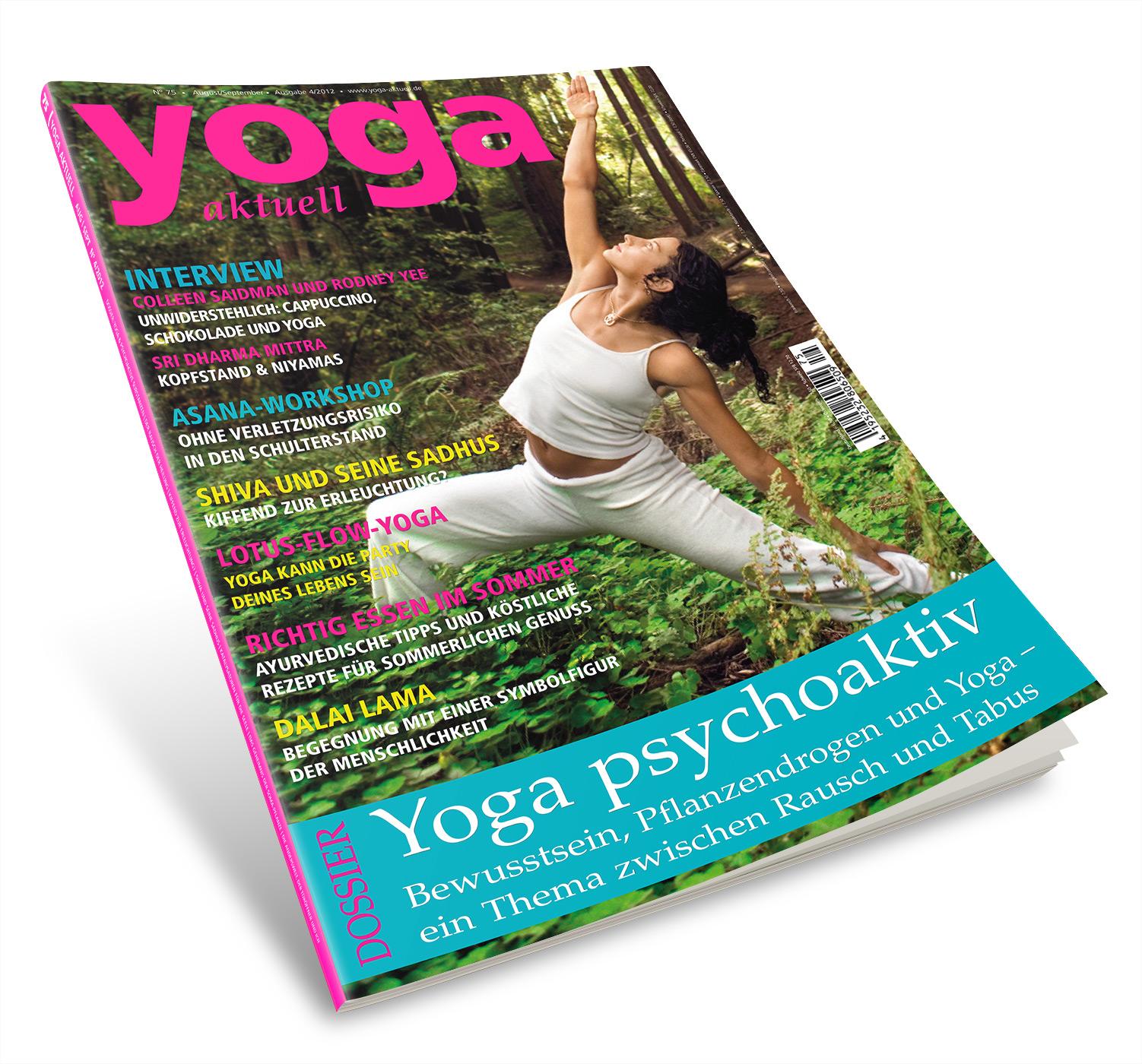 Yoga Aktuell 75 - 04/2012