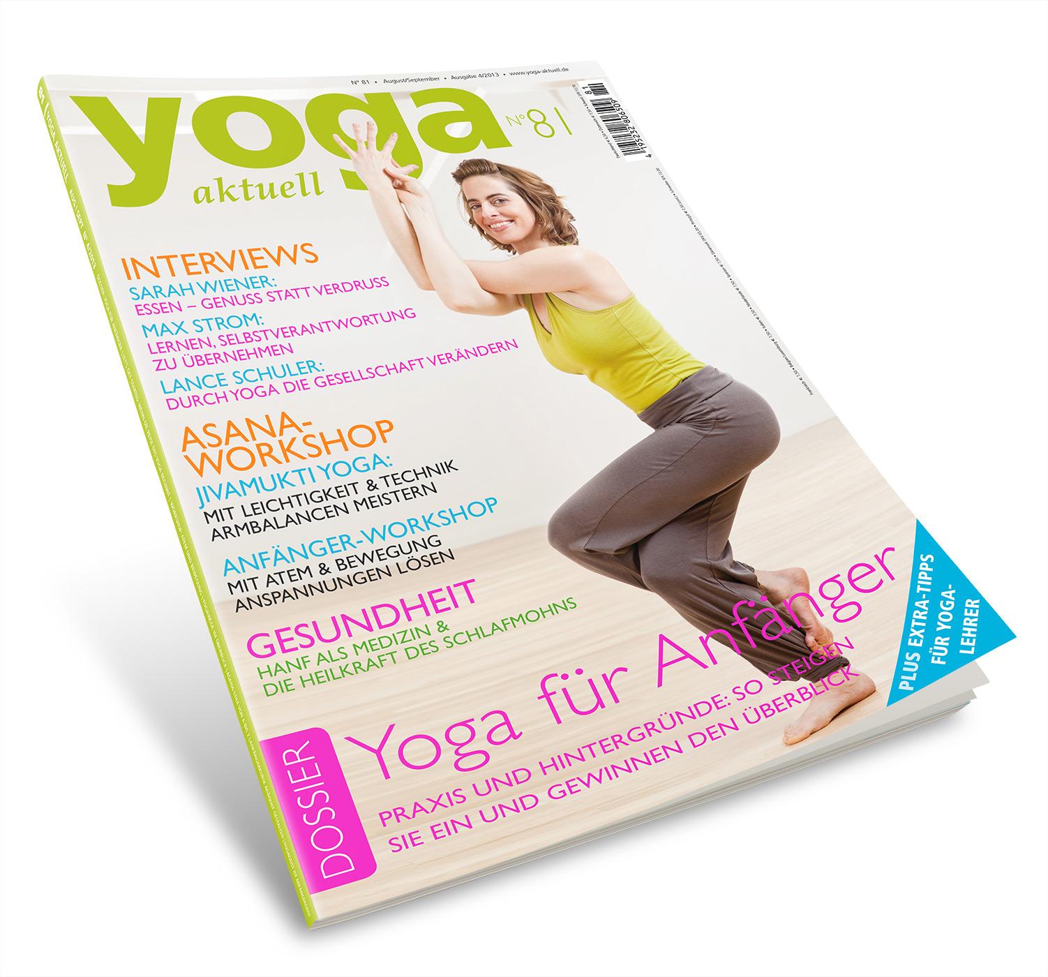 Yoga Aktuell 81 - 04/2013