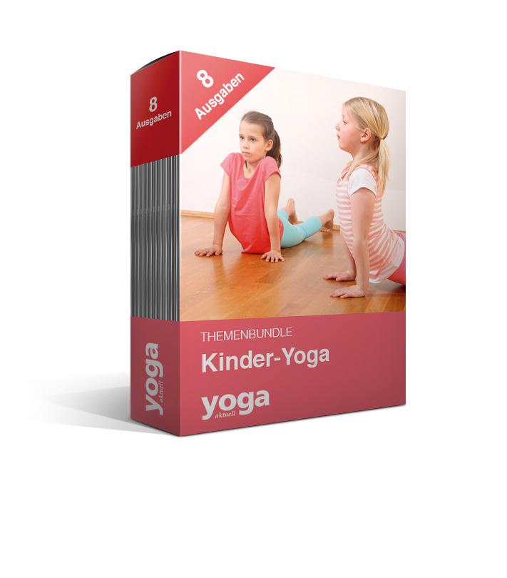 Kinder-Yoga - 8er Bundle