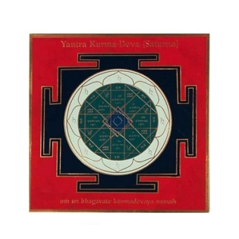 Yantra - Saturn 8x8 cm