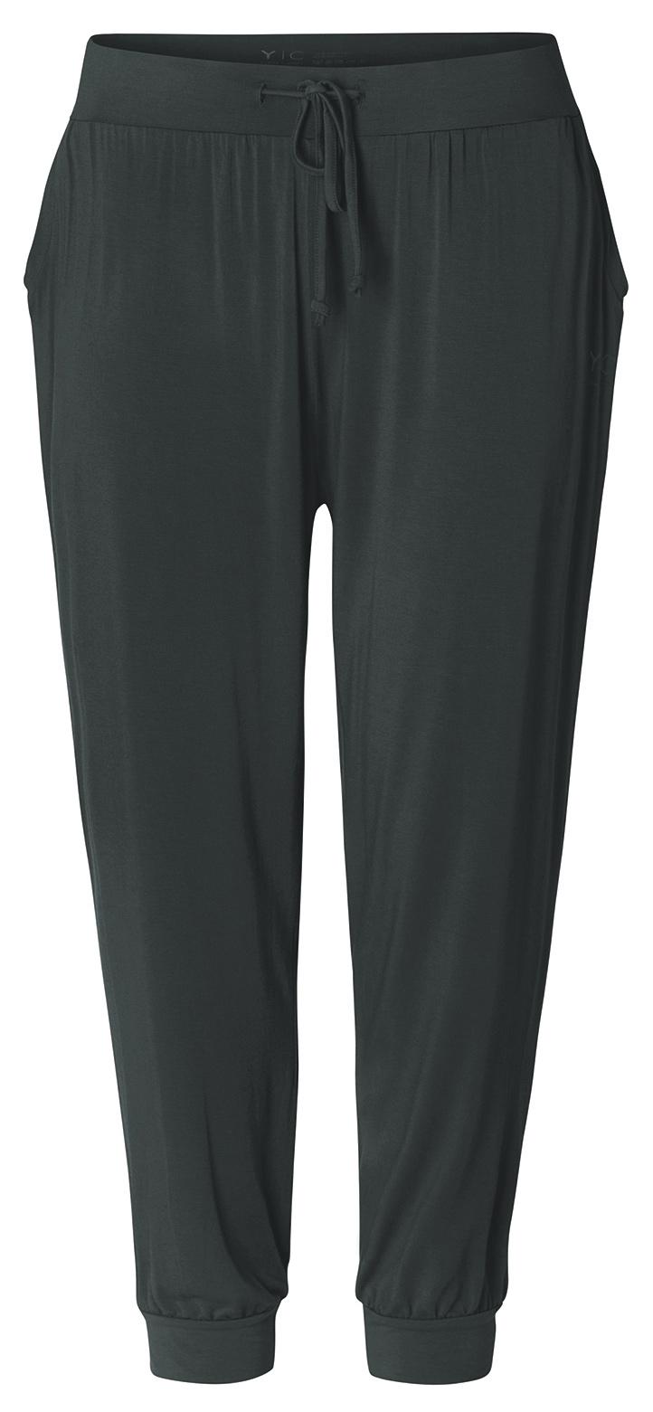 Yoga Curves Collection Long Pants relaxed - tafelgrau