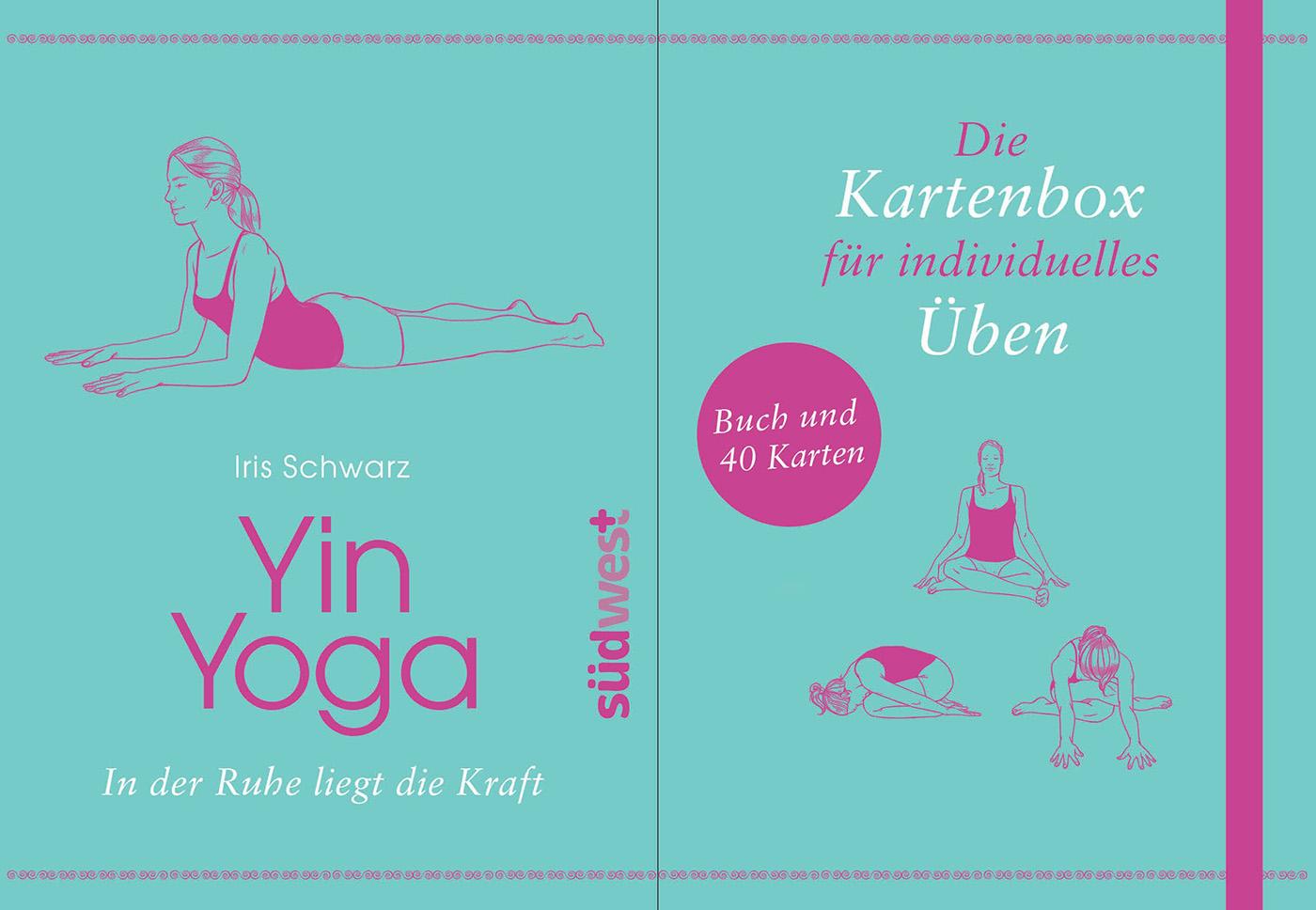 Yin Yoga Kartenbox von Iris Schwarz