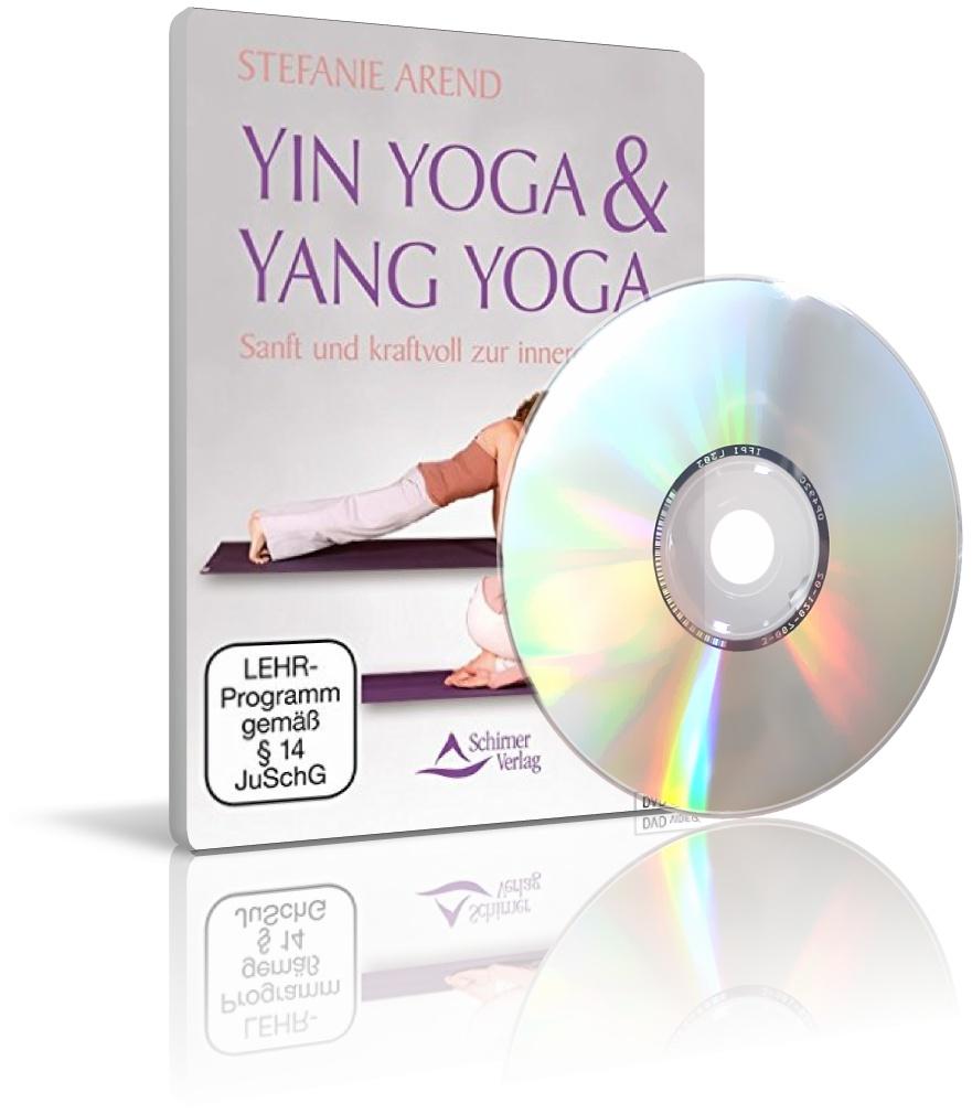 Yin Yoga & Yang Yoga mit Stefanie Arend (DVD)