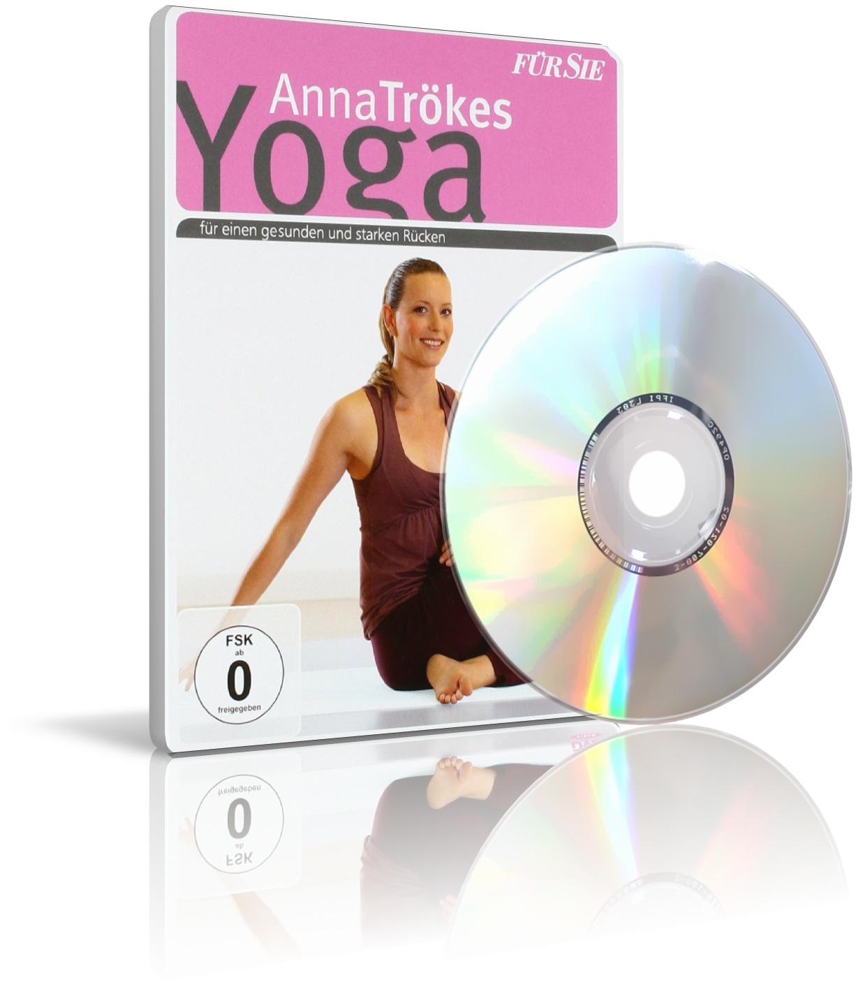 Yoga für einen gesunden und starken Rücken von Anna Trökes (DVD)