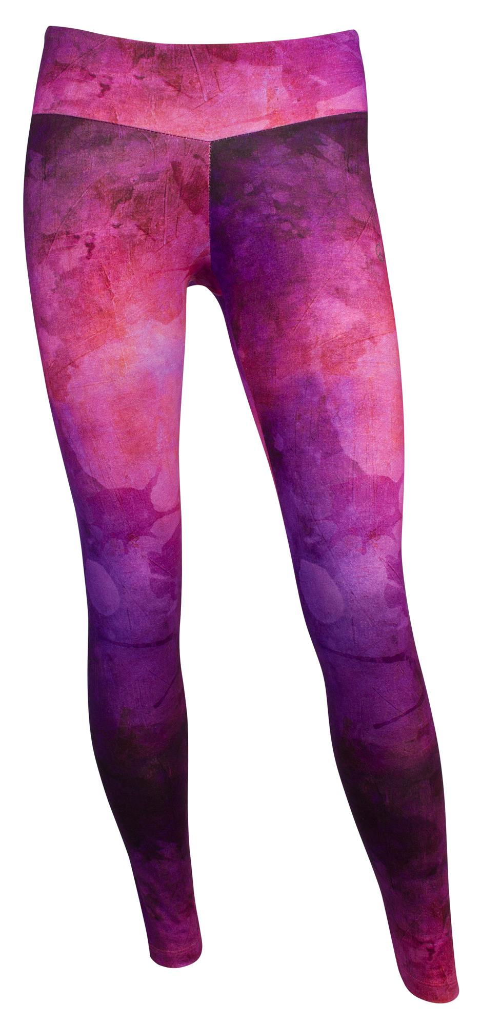"Yoga-Leggings ""Amethyst"" - purple"