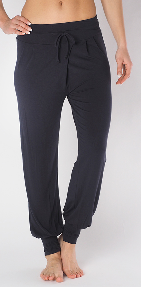 "Yoga-Pant long ""Padmini"" - anthracite"