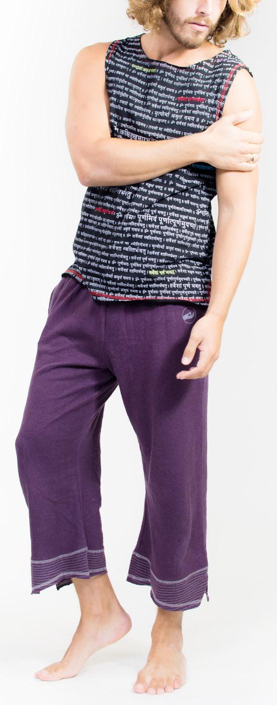 """Yoga-Pants """"Mudra"""" - purple"""