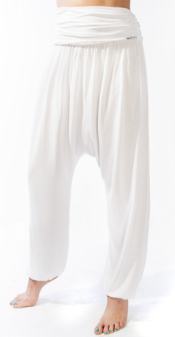 "Yogahose ""Flow"" - white"