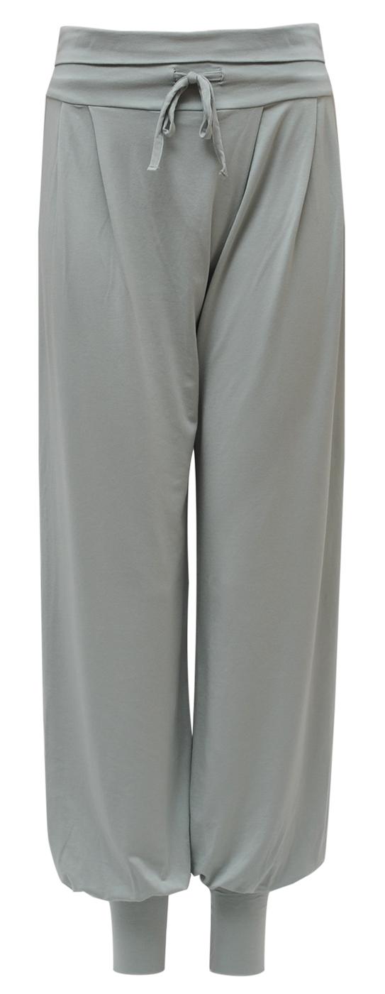 """Yogi Long Pants """"Padmini"""" – grey-green"""