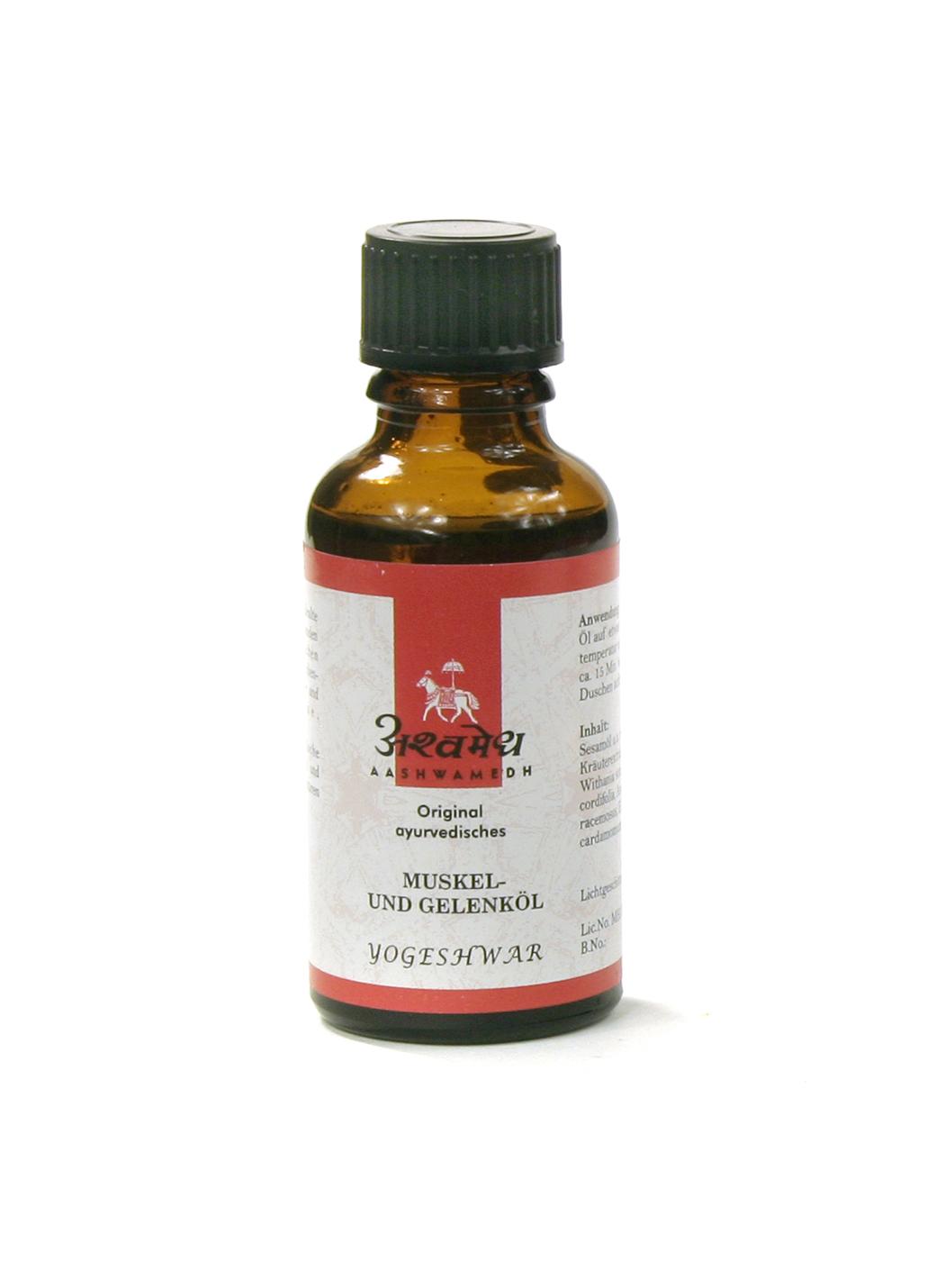 Muskel- & Gelenköl, Yogeshwar 30 ml.