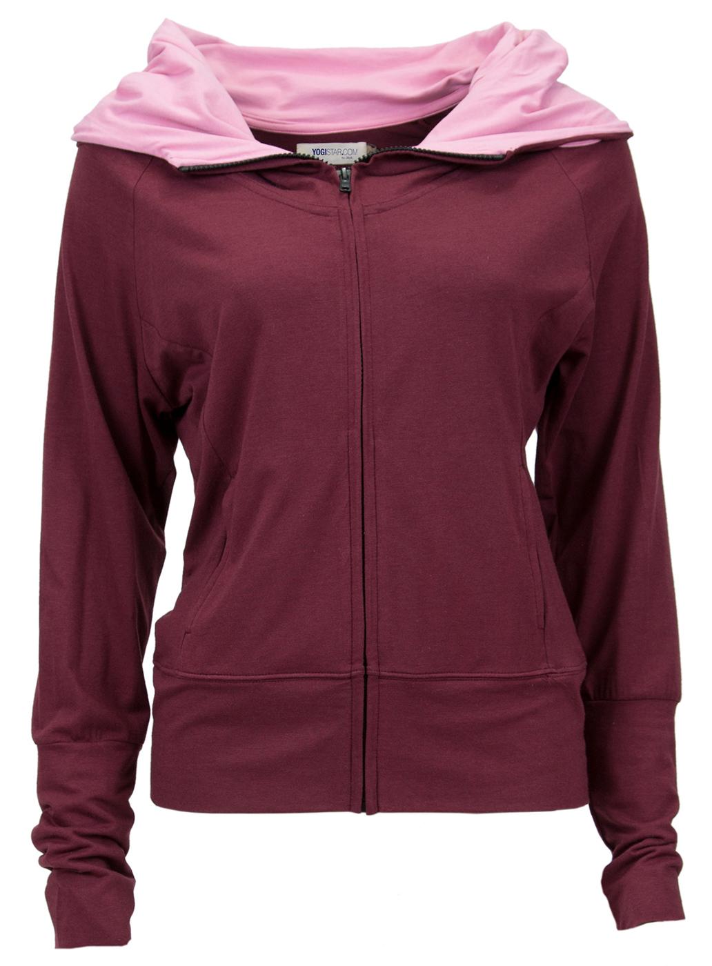 Yogi jacket Devi - burgundy