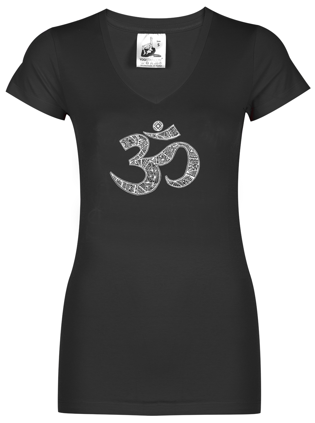 "Yoga-T-Shirt ""OM"" - black"