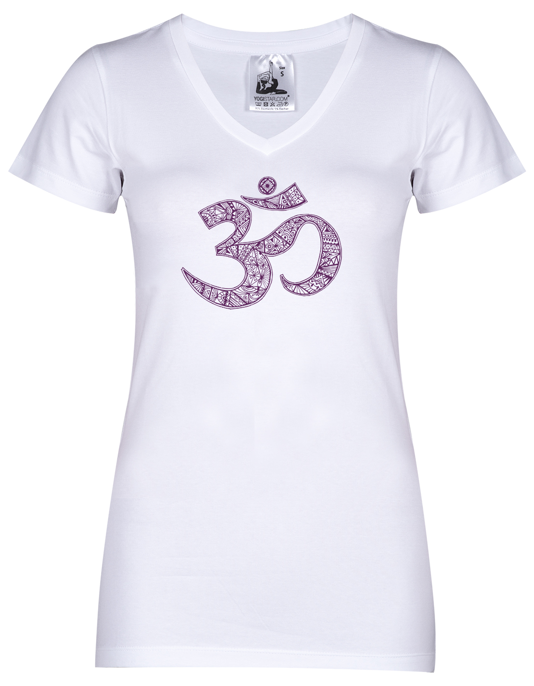 "Yogi-T-Shirt ""OM"" - white"