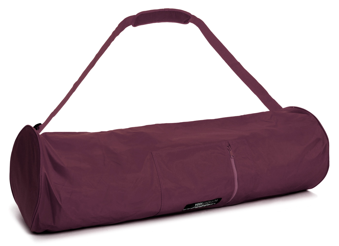 Yoga carrybag basic - zip - extra big - nylon - 80 cm