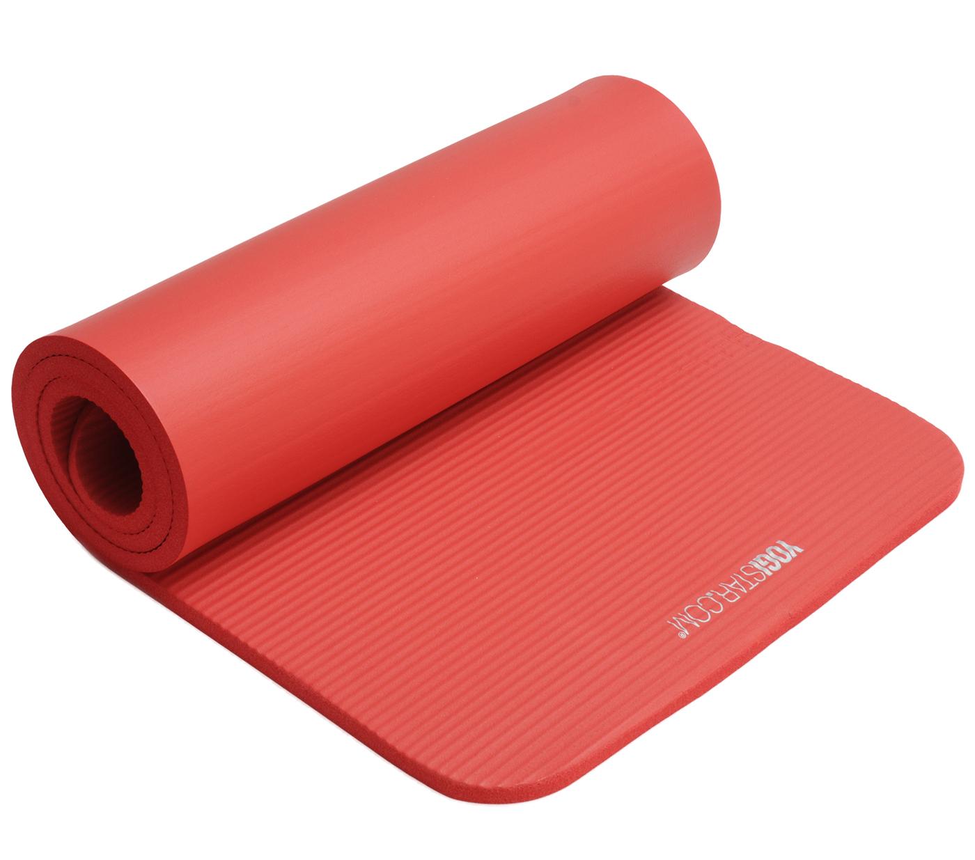2 wahl fitnessmatte gym 15 mm red im yogishop kaufen yoga2 wahl fitnessmatte gym 15 mm red
