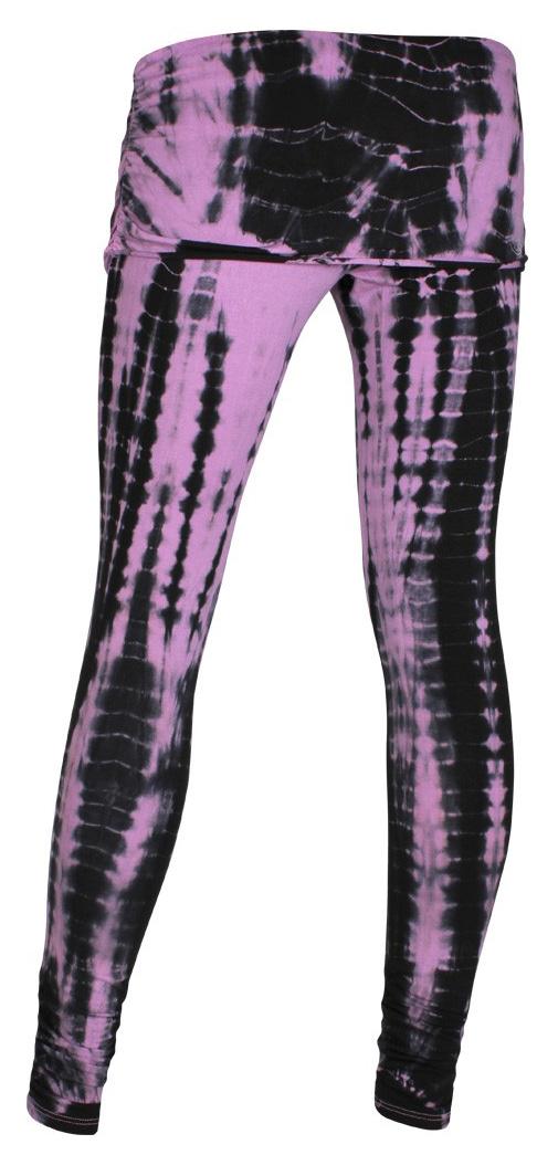 Batik-Pants long, rose-grey