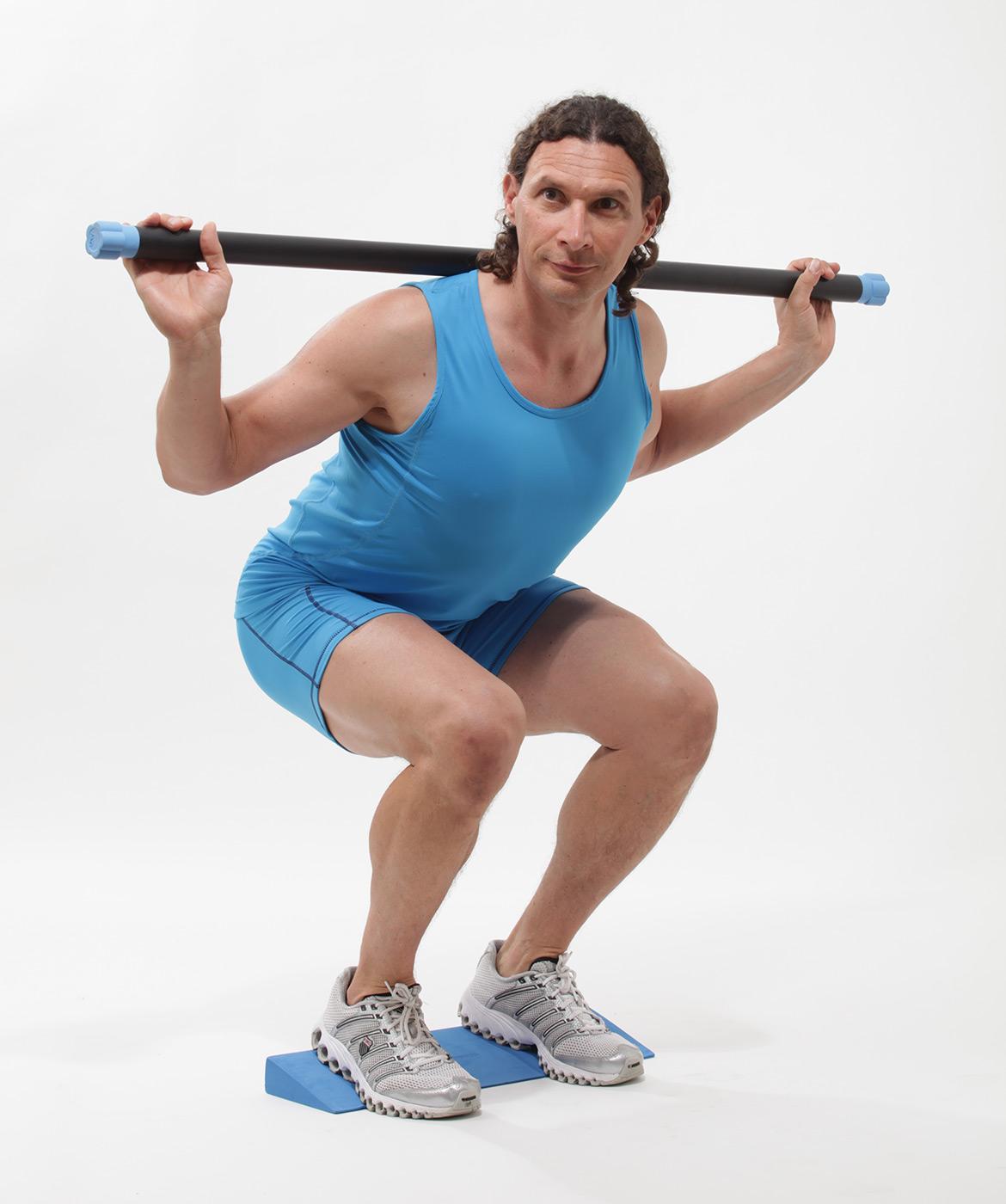 Gewichtsstange (body bar)