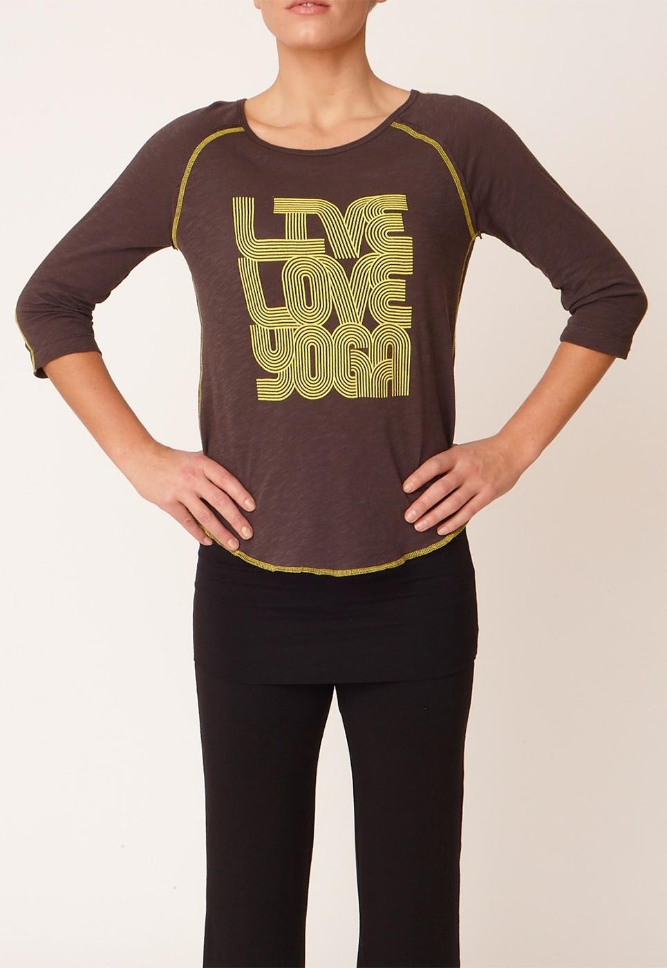 "Shirt ""Boogie T"" - storm grey/lemonade"