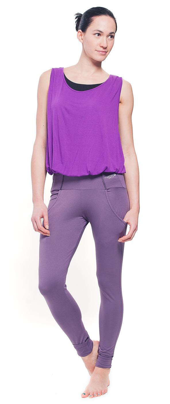 Easy fit fashion Yoga pants - lavender