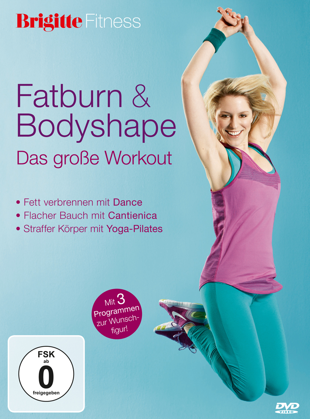 Fatburn & Bodyshape von Brigitte Fitness (DVD)