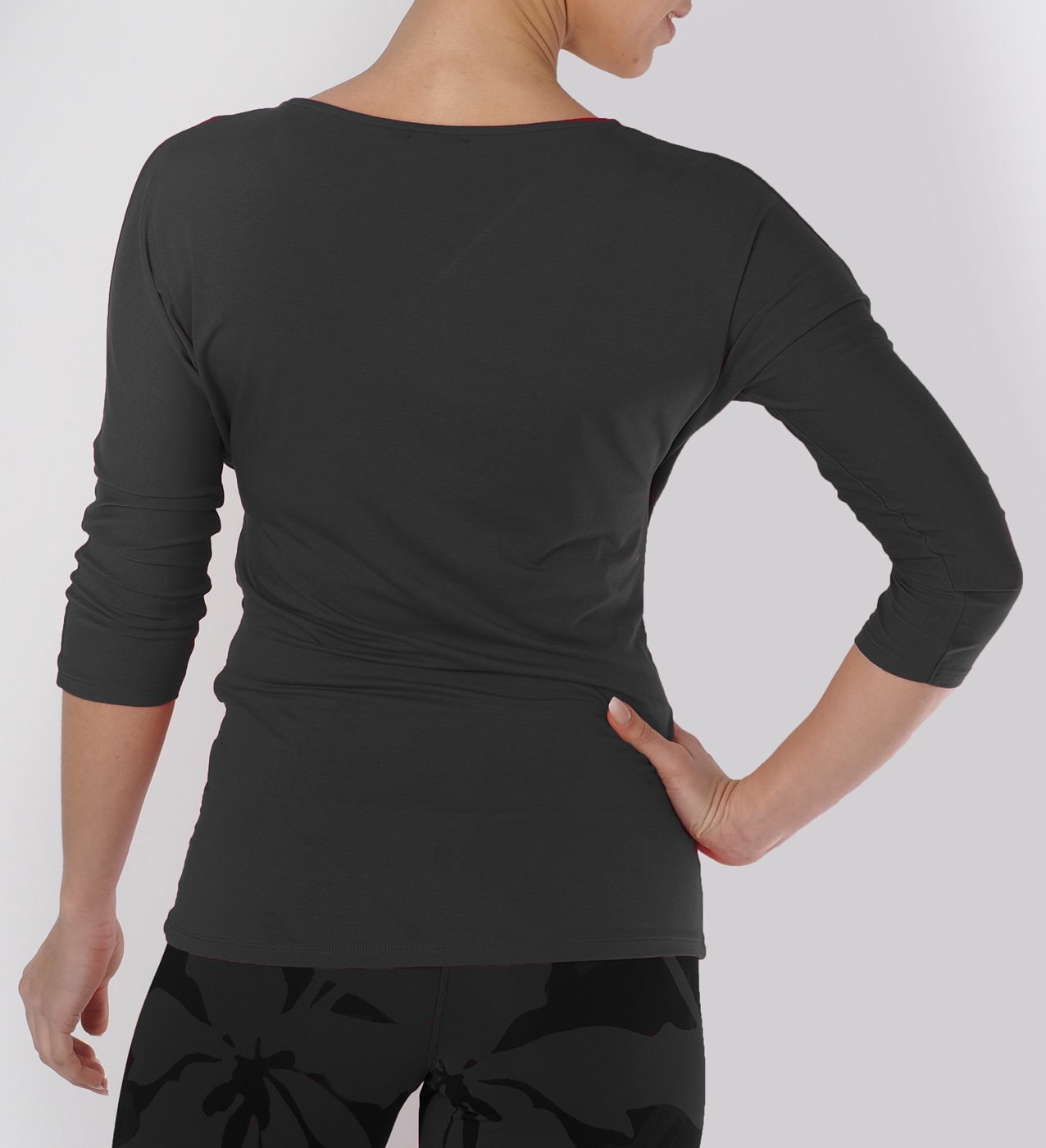 "Long-Sleeve ""Indra"" - anthracite"