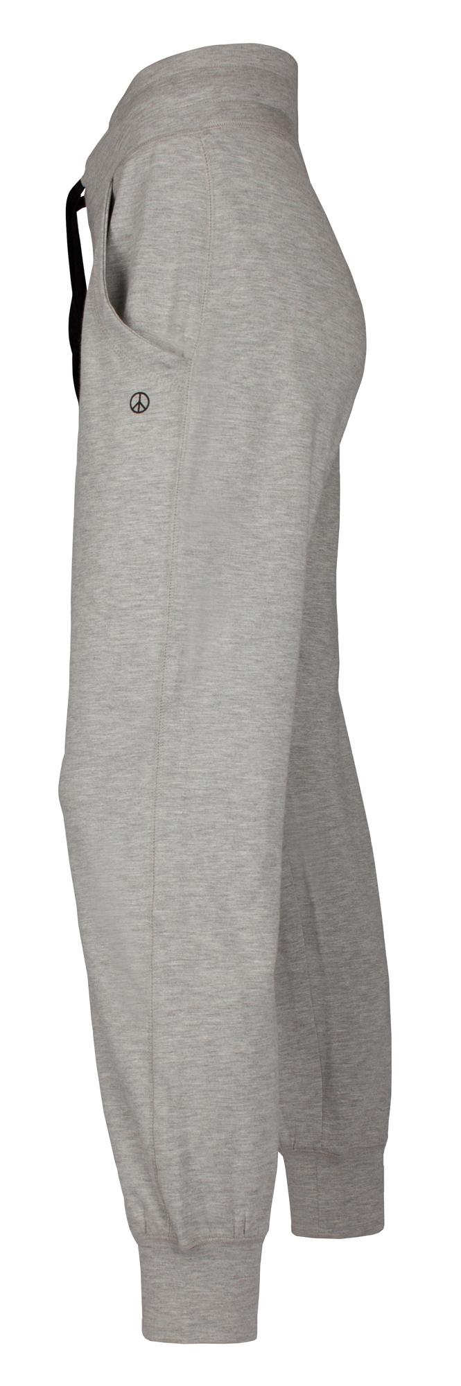 Lounge-Pant, grey melange